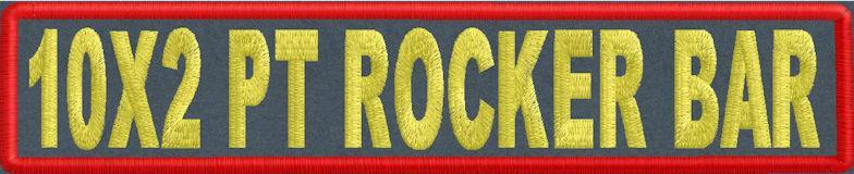 10x2 PT Rocker Bar