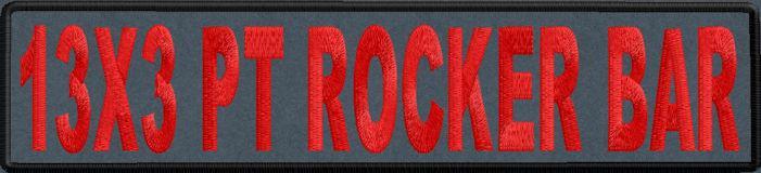 13x3 PT Rocker Bar