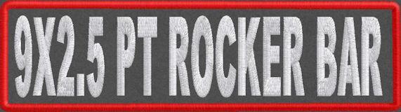 9x2.5 PT Rocker Bar