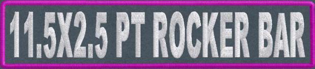 11.5x2.5 PT Rocker Bar