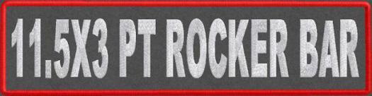 11.5x3 PT Rocker Bar