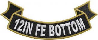 12in FE Bottom Ribbon Rocker