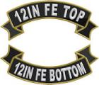 12in FE Top and Bottom Ribbon Rocker Set