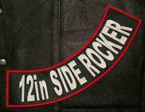 12in PolyTwill Side Rocker