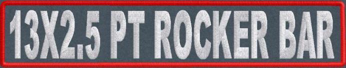 13x2.5 PT Rocker Bar