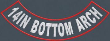 14in Bottom Arch Rocker - Polytwill