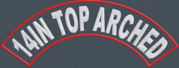 14in Top Arch Rocker - Polytwill