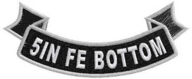 5in FE Bottom Ribbon Rocker