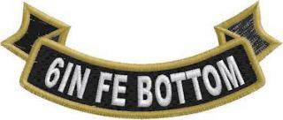 6in FE Bottom Ribbon Rocker