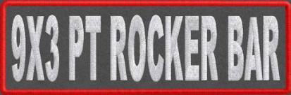 9x3 PT Rocker Bar