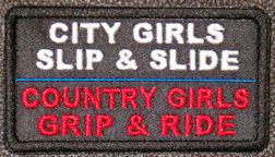 City Girls Slip and Slide Country Girls Grip and Ride