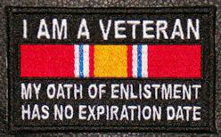 I Am A Veteran Patch