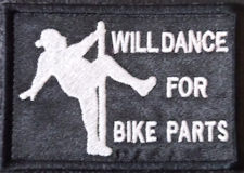 Will Dance For Bike Parts