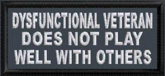 Dysfunctional Veteran Does Not Play Well With Others