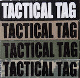 5x1 Tactical Tag with Velcro