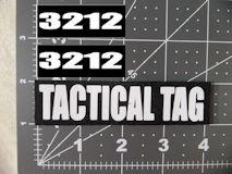 Tactical Tag Helmet Set