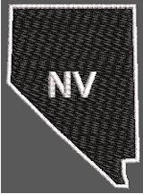 United States Nevada Full Embroidered