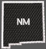 United States New Mexico Full Embroidered