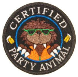Certified Party Animal Patch