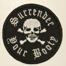 SURRENDER YOUR BOOTY<br>GREAT Patch!!<br>Approx Size: 3.25